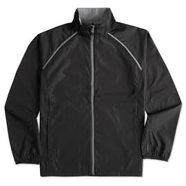 Elevate Egmont Packable Contrast Zipper Windbreaker