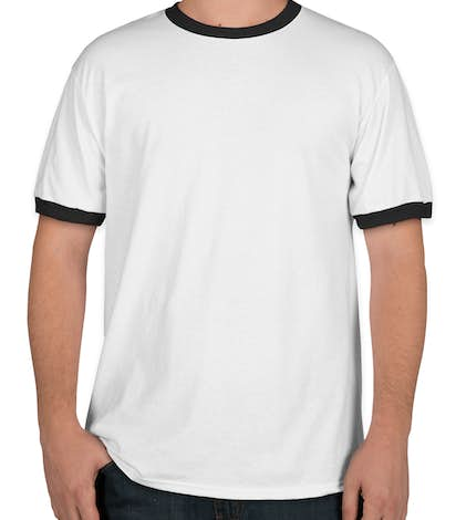 Design port company ringer t shirt online at customink for Online tee shirt companies