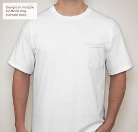Gildan Ultra Cotton Pocket T-shirt - Color: White