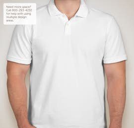 GAP Cotton Pique Polo with Stretch - Color: White
