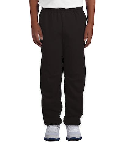 Canada - Gildan Youth Midweight 50/50 Sweatpants - Black