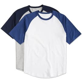 Sport-Tek Short Sleeve Baseball Raglan