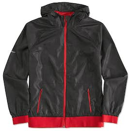 Sport-Tek Ladies Embossed Full Zip Hooded Jacket