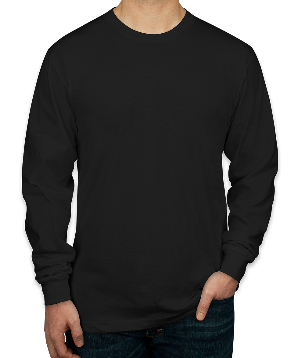 Design Custom Printed American Apparel Long-sleeve T-Shirts Online ...