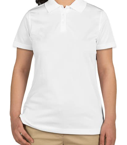 CornerStone Ladies Snag-Proof Polo - White