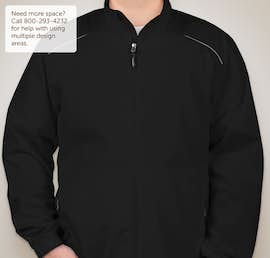 Core 365 Lightweight Full Zip Jacket - Color: Black