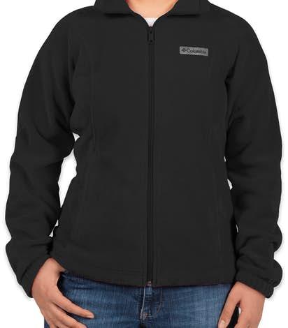 Columbia Ladies Benton Springs Full Zip Fleece Jacket - Black