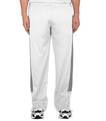 Team 365 Performance Warm-Up Pant - White/Sport Graphite