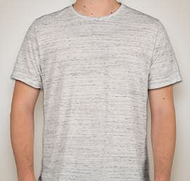 Canvas Melange Blend T-shirt - Color: White Marble