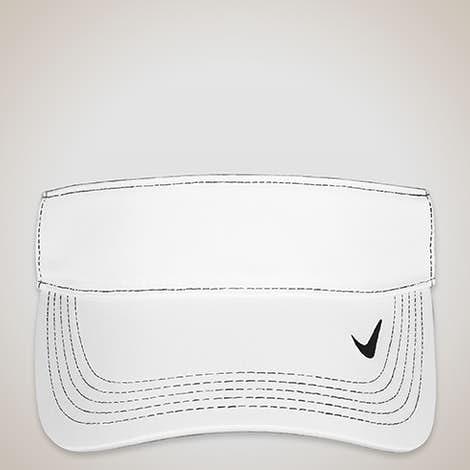 Nike Golf Dri-FIT Swoosh Performance Visor - White