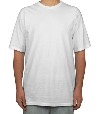 Custom gildan ultra cotton tall t shirt design short for Extra tall white t shirts