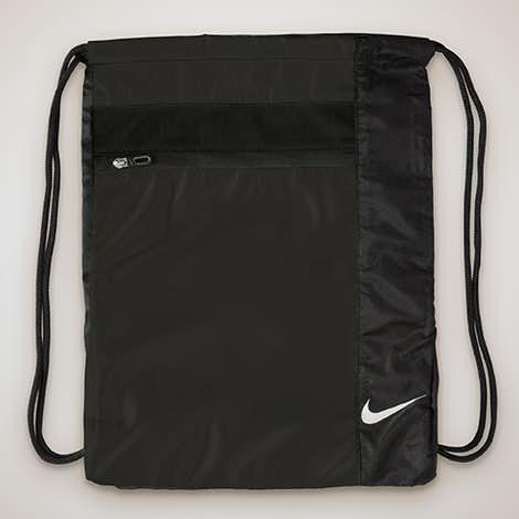 Nike Golf Drawstring Bag - Black / Black