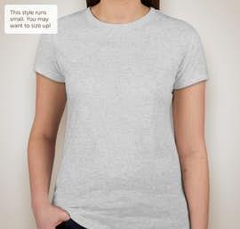 Next Level Juniors Tri-Blend T-shirt - Color: Heather White