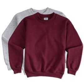Gildan Youth Midweight 50/50 Crewneck Sweatshirt