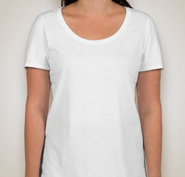 Nike Ladies 100% Cotton T-shirt - Color: White
