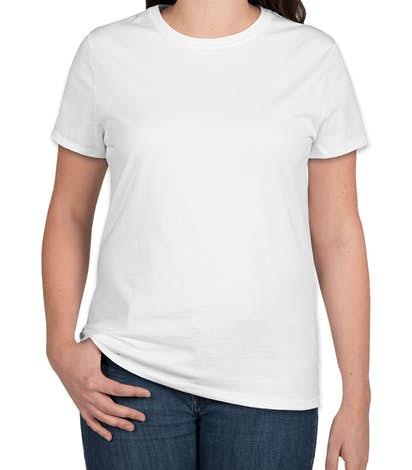 Hanes Ladies Nano-T - White