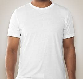 Canvas Tri-Blend T-shirt - Color: Solid White Tri-Blend