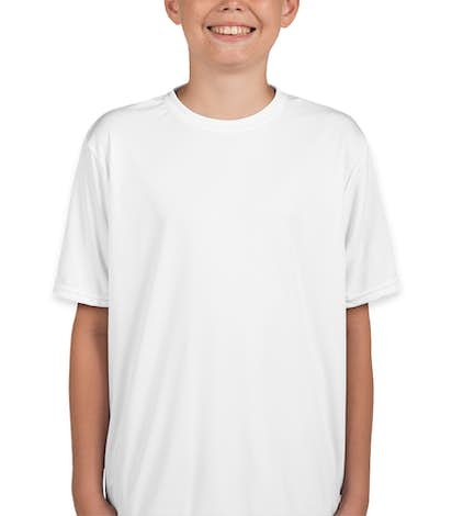 A4 Youth Promotional Performance Shirt - White