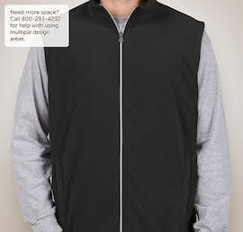 Port Authority Microfleece Vest - Color: Black