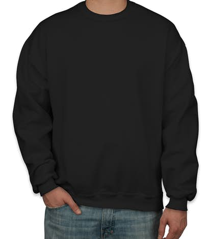 Design Custom Printed Jerzees Crewneck Sweatshirts Online at CustomInk