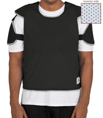 Badger Reversible Practice Pinnie - Black / White