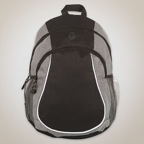 Coil Two Pocket Basic Backpack - Graphite