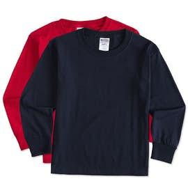 Jerzees Youth 50/50 Long Sleeve T-shirt