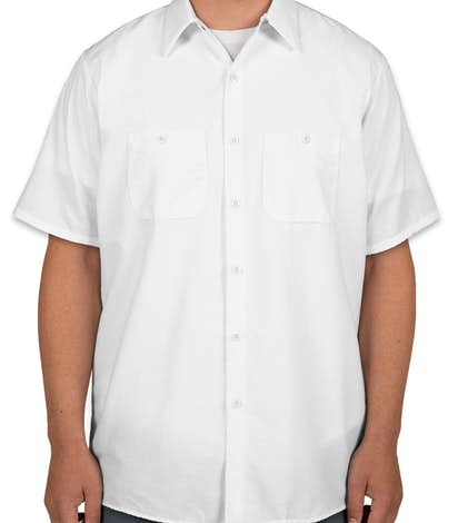 Red Kap® Industrial Work Shirt - White
