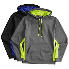 Sport-Tek Colorblock Performance Pullover Hoodie