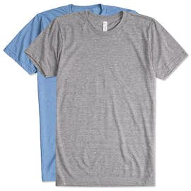 American Apparel USA-Made Tri-Blend T-shirt