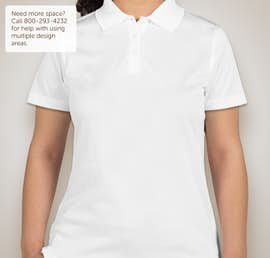 CornerStone Ladies Snag-Proof Polo - Color: White