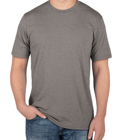 District Made Relaxed Tri-Blend T-shirt - Grey Frost