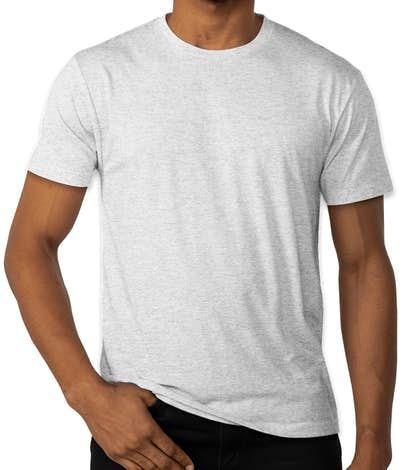 Next Level Tri-Blend T-shirt - Heather White
