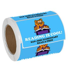 Full Color 5 in.  x 3 in. Rectangle Roll Labels
