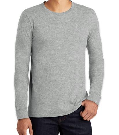 Nike 100% Cotton Long Sleeve T-shirt - Dark Grey Heather