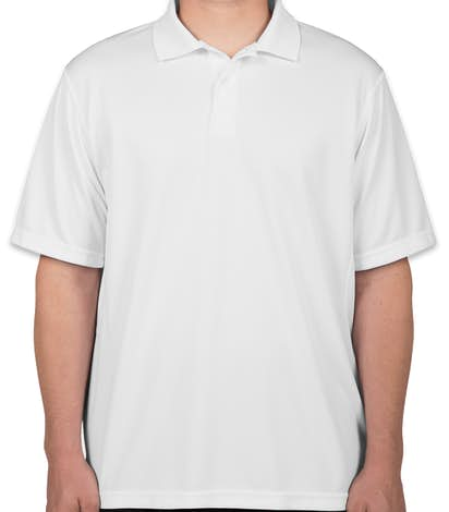 Champion Double Dry Performance Polo - White