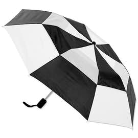 "Vitronic Multi-Tone Auto Open Vented 44"" Umbrella"
