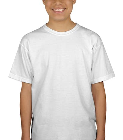 Canada - Gildan Youth Ultra Cotton T-shirt - White
