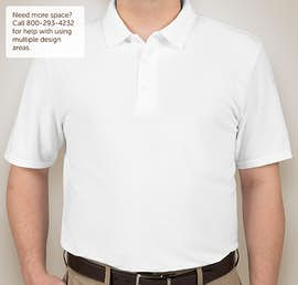 Canada - Gildan Dryblend Double Pique Polo - Color: White