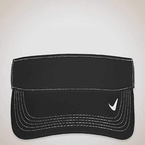 Nike Golf Dri-FIT Swoosh Performance Visor - Black