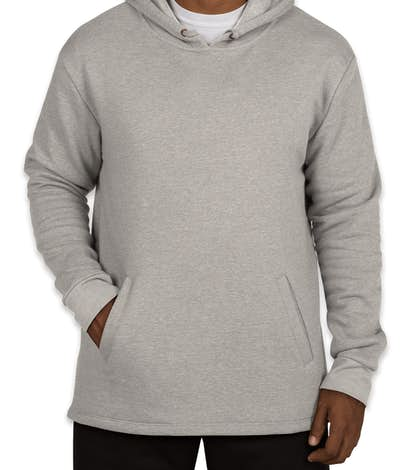 Next Level Soft Pullover Hoodie - Heather Grey