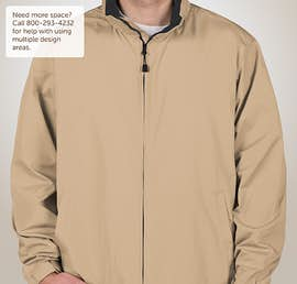 North End Full Zip Hooded Jacket - Color: Putty