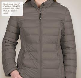 Weatherproof Ladies Packable Down Jacket - Color: Dark Pewter