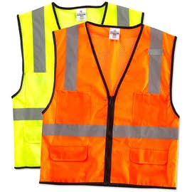 ML Kishigo Class 2 Safety 6 Pocket Mesh Vest
