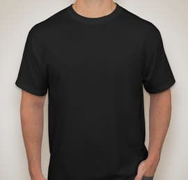 Canada - Jerzees 50/50 T-shirt - Color: Black