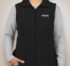 Columbia Ladies Benton Springs Fleece Vest - Color: Black