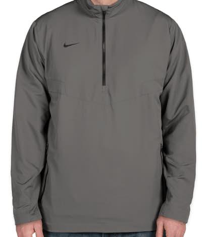 Nike Golf Half Zip Windbreaker - Dark Grey / Black