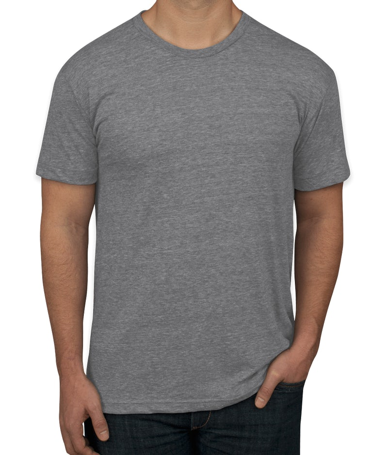 custom american apparel tri blend t shirt design short