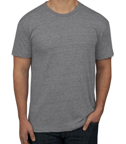Custom american apparel usa made tri blend t shirt for Tri blend custom t shirts