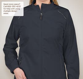 Core 365 Ladies Lightweight Full Zip Jacket - Color: Classic Navy